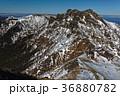 八ヶ岳連峰・赤岳から望む横岳・硫黄岳の稜線 36880782