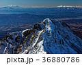 赤岳山頂から見る八ケ岳連峰・阿弥陀岳と御嶽・乗鞍岳 36880786
