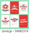 バレンタイン ベクター バックグラウンドのイラスト 36882374