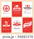 バレンタイン ベクター バックグラウンドのイラスト 36882376