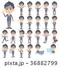 男性 人物 表情のイラスト 36882799