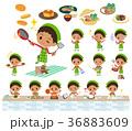 perm hair boy_cooking 36883609