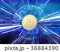 ビットコイン コイン デジタルのイラスト 36884390