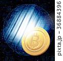 ビットコイン テクノロジー 仮想通貨のイラスト 36884396