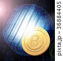 ビットコイン 仮想通貨 コインのイラスト 36884405