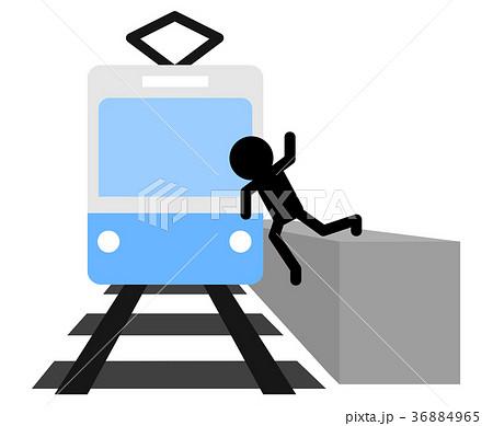 電車の事故 36884965