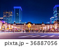 東京駅 駅 駅舎の写真 36887056