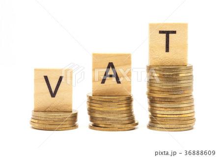 Word Vat Concept on wooden block の写真素材 [36888609] - PIXTA
