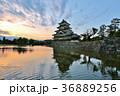 松本城 城 天守閣の写真 36889256