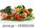 野菜 緑黄色野菜 沢山の写真 36890206