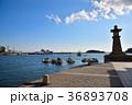 鞆の浦 鞆港 常夜燈の写真 36893708