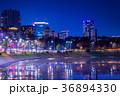 東京 桜田濠の夜景(桜田門前より国会議事堂方面) 36894330