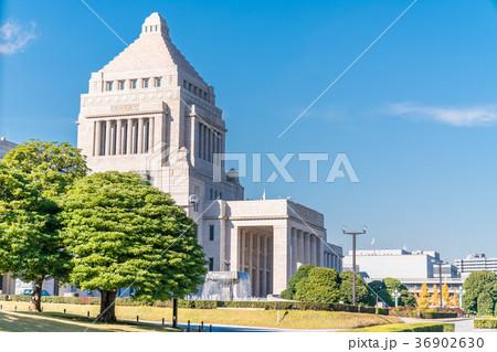 国会議事堂 衆議院南門から 36902630