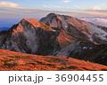 晴れ 山 山並みの写真 36904455
