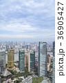 街並み 高層ビル群 浦東の写真 36905427