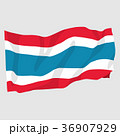 Vector illustration of Thailand flag sign symbol 36907929