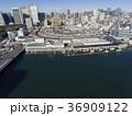 ドローン空撮・築地市場・隅田川・見下ろし 36909122