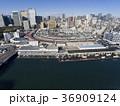 ドローン空撮・築地市場・隅田川・見下ろし 36909124