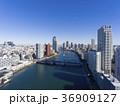 ドローン空撮・築地市場・隅田川 36909127