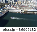 ドローン空撮・築地市場・隅田川・見下ろし 36909132