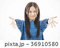 女性 若い女性 笑顔の写真 36910580