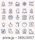 クリスマス アイコン 休日のイラスト 36913057
