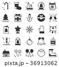 クリスマス ベクトル アイコンのイラスト 36913062