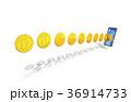 フィンテック スマートフォン iPhoneのイラスト 36914733