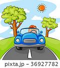 幼い 車 自動車のイラスト 36927782