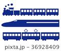 鉄道 車両 バリエーションのイラスト 36928409