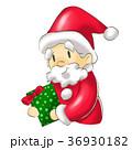サンタ サンタクロース プレゼントのイラスト 36930182
