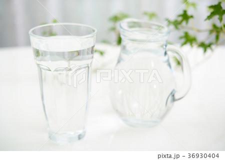 一杯のお水の写真素材 [36930404] - PIXTA