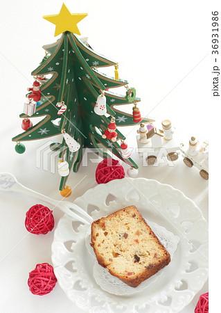 クリスマスのドライフルーツケーキ 36931986