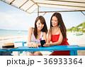 沖縄を旅する女性 36933364