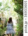 女性 旅 小道の写真 36933605