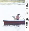 人物 女性 ノマドワーカーの写真 36933626