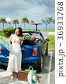 沖縄を旅する女性 36933768