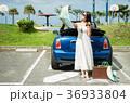 沖縄を旅する女性 36933804