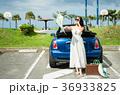 沖縄を旅する女性 36933825