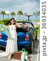 沖縄を旅する女性 36934035