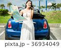 沖縄を旅する女性 36934049