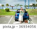 沖縄を旅する女性 36934056