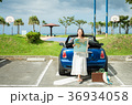 沖縄を旅する女性 36934058