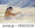 人物 女性 ノマドワーカーの写真 36934236