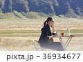女性 ビジネスウーマン PCの写真 36934677