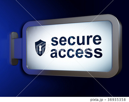Privacy concept: Secure Access and Shield With 36935358