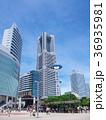 都市風景 ランドマークタワー みなとみらいの写真 36935981