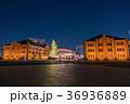 横浜赤レンガ倉庫 クリスマス 都市風景の写真 36936889