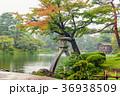 兼六園 秋雨 石川県の写真 36938509