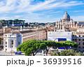 ローマ サン・ピエトロ大聖堂 イタリアの写真 36939516